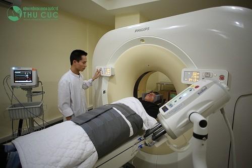 Máy chụp cắt lớp vi tính CT 64 dãy tại Bệnh viện Thu Cúc