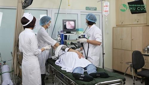 Nội soi dạ dày gây mê là phương pháp nội soi dạ dày không đau được đánh giá cao tại bệnh viện Đa khoa Quốc tế Thu Cúc.