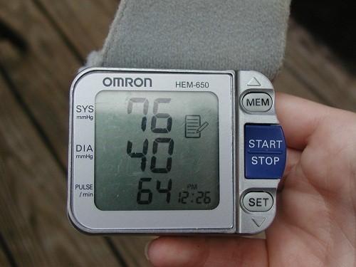 Huyết áp thấp cũng có thể gây ra những biến chứng nguy hiểm không kém cao huyết áp.