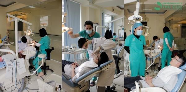 Với sự hỗ trợ của hệ thống thiết bị y tế hiện đại cùng công nghệ tẩy trắng răng bằng tia X- Bright, khách hàng sẽ nhanh chóng có được hàm răng trắng sáng như mong ước.