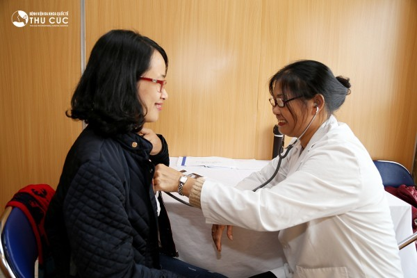 Tập đoàn BIDV khám sức khỏe cho nhân viên tại bệnh viện Thu Cúc