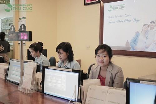 Bệnh viện Đa khoa Quốc tế Thu Cúc là 1 trong những đơn vị tiên phong áp dụng dịch vụ đặt lịch hẹn khám.
