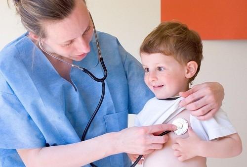 Hầu hết trẻ bị hen phế quản có những triệu chứng đầu tiên trước năm 5 tuổi.