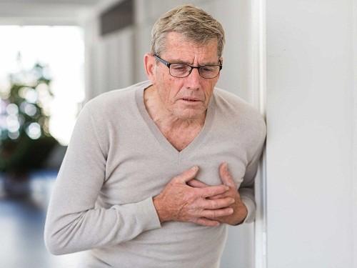 Triệu chứng thường gặp nhất của nhồi máu cơ tim là cơn đau thắt ngực điển hình.