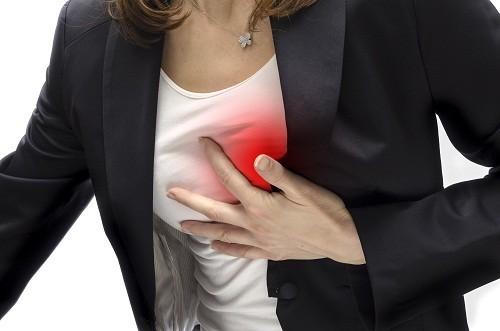 71% phụ nữ bị mệt mỏi trong 1 tháng trước khi bị nhồi máu cơ tim và 43% trong đó có một cơn nhồi máu cơ tim nhẹ.