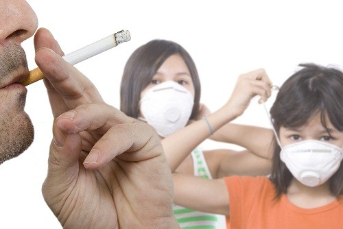 Khói thuốc lá trong môi trường sống có thể ảnh hưởng tới tim và mạch máu.