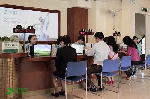 Tất cả các thủ tục thăm khám đều được thực hiện nhanh chóng với sự trợ giúp nhiệt tình, chu đáo của đội ngũ nhân viên y tế.