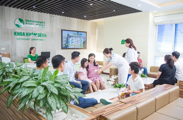 Hệ thống y tế Thu Cúc phục vụ khách hàng chu đáo, chuyên nghiệp