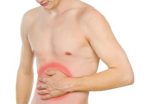 Tác dụng phụ thường gặp nhất của chứng khó tiêu là đau ở vùng bụng trên.
