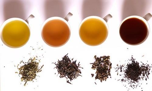 Trong các loại trà, trà đen giàu chất tannin - một chất gây ố răng.