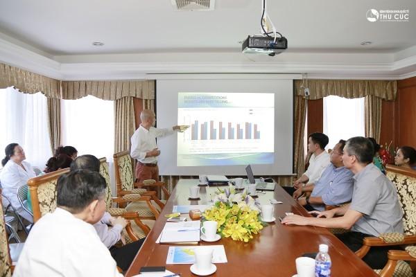 Hội thảo về nước rửa tay diệt khuẩn hãng GoJo tại Bệnh viện Thu Cúc