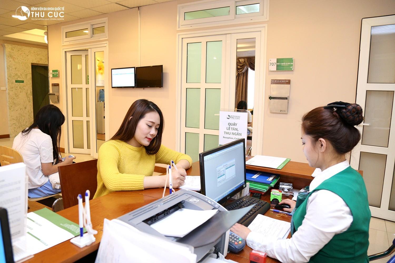 Thủ tục khám thai tại Bệnh viện Thu Cúc vô cùng đơn giản và nhanh chóng.