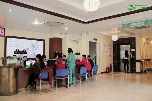 Ngày càng có nhiều người lựa chọn Bệnh viên Thu Cúc để điều trị các bệnh lý nam khoa.