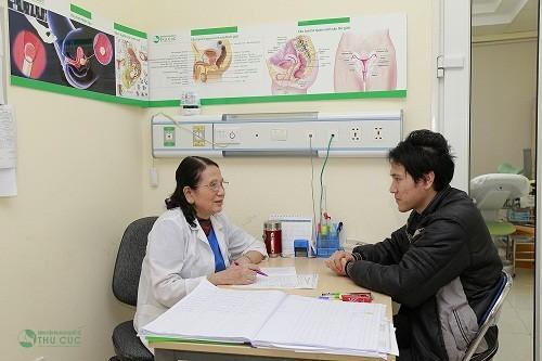"""Bệnh viện Đa khoa quốc tế Thu Cúc là địa chỉ tin cậy để các """"đấng mày râu"""" lựa chọn để điều trị bệnh hẹp bao quy đầu."""