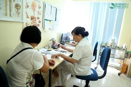 Chuyên khoa Cơ xương khớp Bệnh viện Đa khoa Quốc tế Thu Cúc.