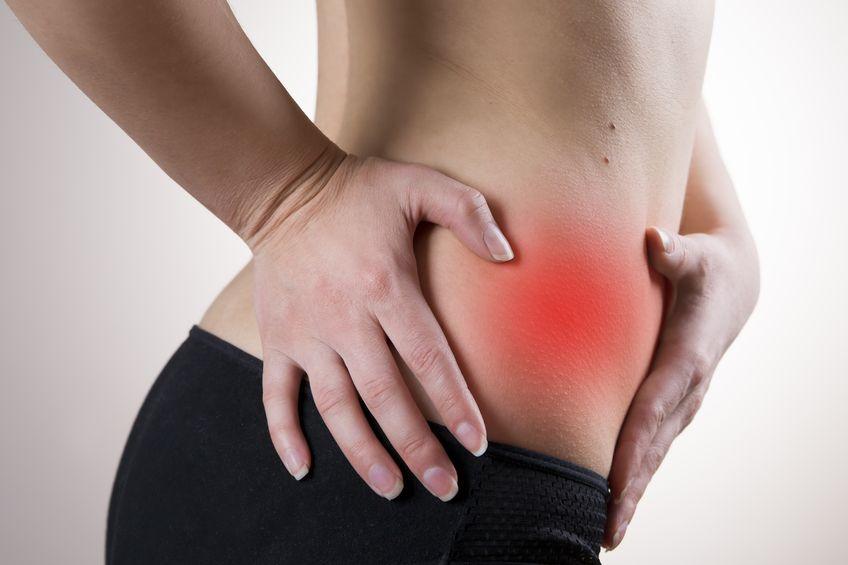 Vị trí đau ruột thừa thường đau bên phải.