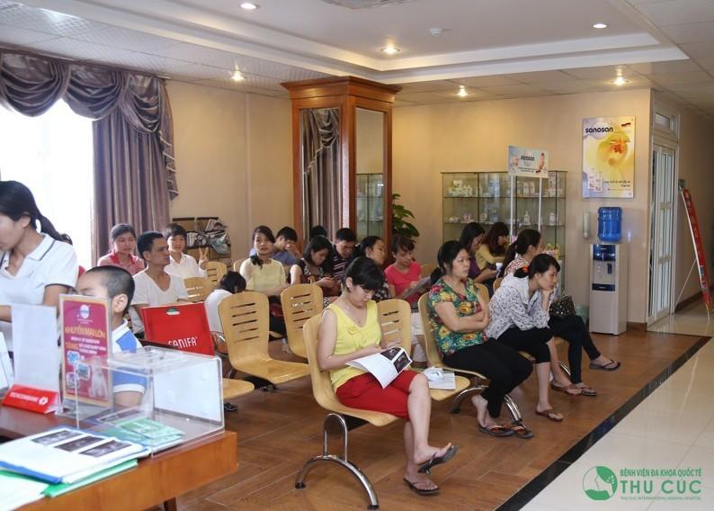 Phòng khám sản phụ khoa Bệnh viện Thu Cúc là địa chỉ khám chữa uy tín các bệnh xã hội.