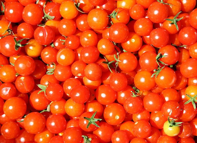 Không chỉ dồi dào vitamin C, cà chua bi còn cung cấp hàm lượng lớn lycopene – một chất chống oxy hóa giúp ngăn ngừa bệnh ung thư và bệnh tim. Cộng với một số lượng lớn chất xơ, vitamin A và một ít folate, cà chua bi là món ăn được coi là nhiều dinh dưỡng.