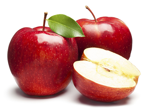 Táo và vỏ quả táo có nhiều chất xơ hơn các loại hoa quả khác như đào, nho, bưởi. Lượng chất xơ hòa tan trong táo còn giúp điều chỉnh lượng cholesterol cho những người có lượng cholesterol cao.  Lưu ý cho mẹ bầu một điều là khi ăn táo hãy ăn cả bỏ để không bỏ phí lượng chất xơ.