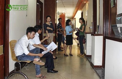 Để được chẩn đoán chính xác bệnh, nhiều người đã tìm đến Bệnh viện Thu Cúc để được thăm khám, làm những xét nghiệm cần thiết