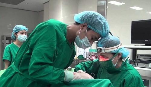 Phẫu thuật loại bỏ polyp mũi được áp dụng trong trường hợp hỗ trợ điều trị bằng thuốc không hiệu quả