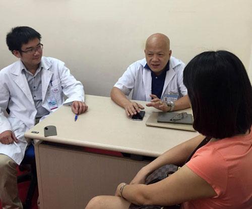 Hội chẩn liên ngành sản-tim cho thai phụ. Ảnh: H.N.