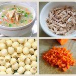 5 món cháo dinh dưỡng cho trẻ còi cọc