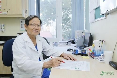 GS.TS. Trần Văn Sáng - chuyên khoa Hô hấp, Bệnh viện Thu Cúc đã giúp điều trị thành công nhiều bệnh lý cho người bệnh