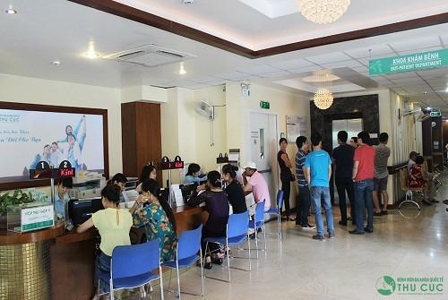 Bệnh viện Thu Cúc là địa chỉ tin cậy được nhiều khách hàng tin tưởng tìm đến khám chữa bệnh