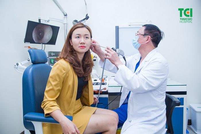 Chuyên khoa tai mũi họng - Bệnh viện Thu Cúc