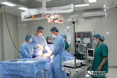 Bệnh viện Đa khoa Quốc tế Thu Cúc là địa chỉ áp dụng phương pháp phẫu thuật nội soi an toàn, hiệu quả