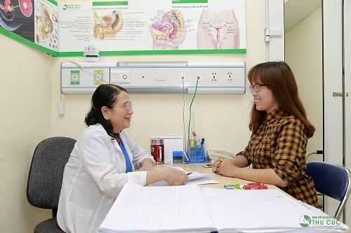 Người bệnh cần tìm đến bệnh viện để các bác sĩ thăm khám và có chỉ định cụ thể nhằm chẩn đoán đúng bệnh