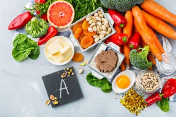 Vitamin A có chứa trong những thực phẩm giúp mau lành vết thương