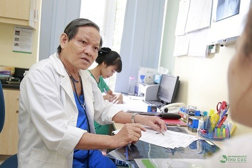 Người bệnh cần tìm đến bác sĩ để được thăm khám, chẩn đoán và tư vấn điều trị sớm bệnh