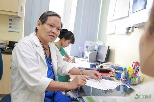 Người bệnh cần tuân thủ theo đúng phác đồ điều trị của bác sĩ để cải thiện sớm tình trạng sức khỏe