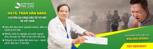 GS.TS.Trần Văn Sáng - chuyên gia hàng đầu về hô hấp tại Việt Nam
