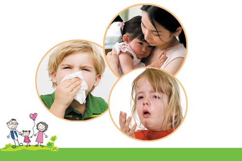 Nhiễm khuẩn đường hô hấp là bệnh dễ mắc phải ở trẻ em do sức đề kháng yếu