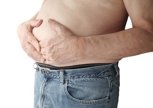 Những bất thường ở gan có thể khiến cho bụng bị sưng, phình to hơn bình thường