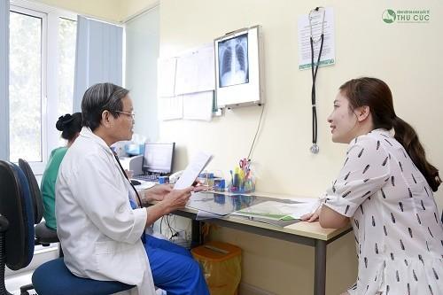 Người bệnh cần tới trực tiếp bệnh viện để bác sĩ chuyên khoa Hô hấp tư vấn và có chỉ định cụ thể