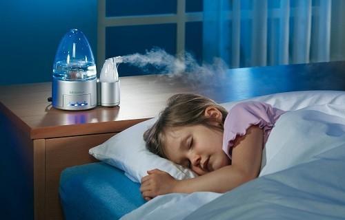 Đặt máy tạo độ ẩm trong nhà sẽ giúp không khí tăng cường thêm độ ẩm