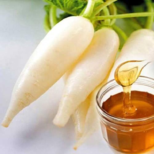Củ cải vừa đủ, rửa sạch cả vỏ thái mỏng, cho vào bát thêm đường mạch nha 2-3 muỗng, để qua 1 đêm sẽ có nước đường rỉ ra, lấy để dùng nhiều lần.