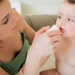 Chữa sổ mũi cho trẻ sơ sinh