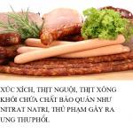 Những thực phẩm làm tăng nguy cơ ung thư