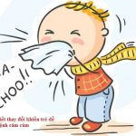Cảm cúm ở trẻ và cách phòng ngừa
