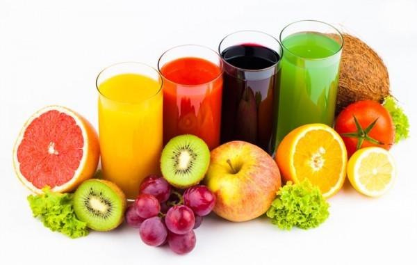 Nước ép trái cây rất tốt cho bệnh nhân bị tràn dịch màng phổi.