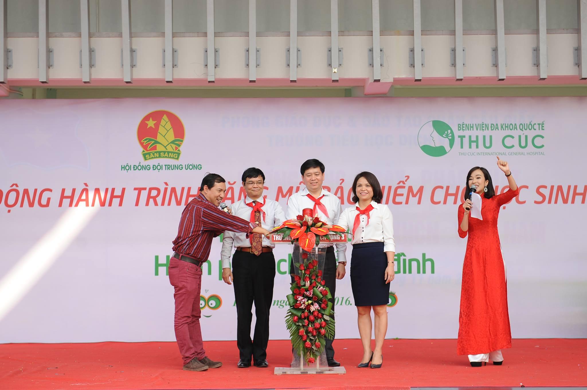 BV Thu Cúc: Phát động tặng 20.000 mũ bảo hiểm cho học sinh tiểu học