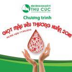 Chương trình giọt máu yêu thương tại BVĐKQT Thu Cúc 2016