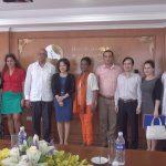 Đại sứ CuBa sang thăm BVĐKQT Thu Cúc