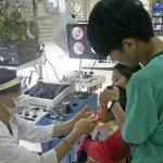 Nạo VA cho trẻ tại BV Thu Cúc