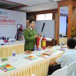 BV Thu Cúc: Diễn tập phòng cháy chữa cháy 2016